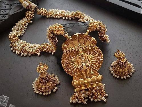Lord Vishnu necklace