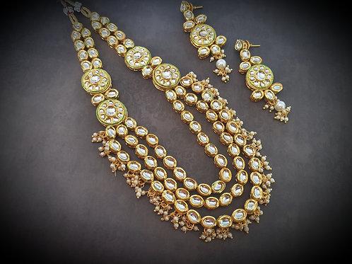 Multi layered Kundan Necklace