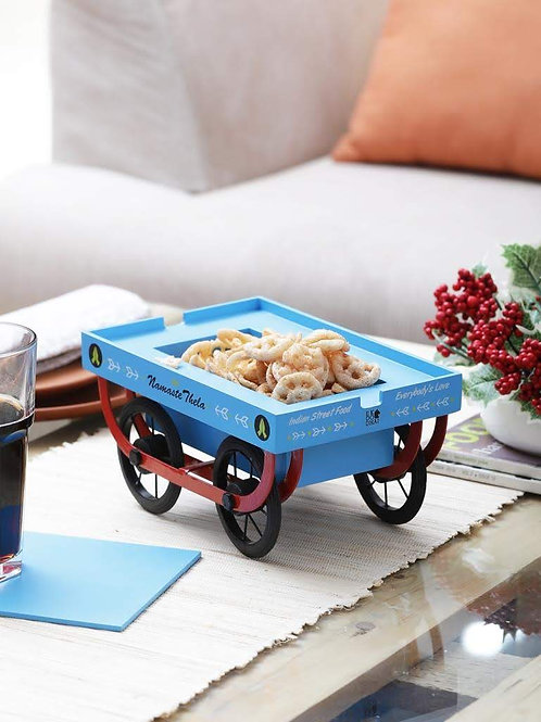 NAMASTE Thela / Trolley (Snack serving platter)