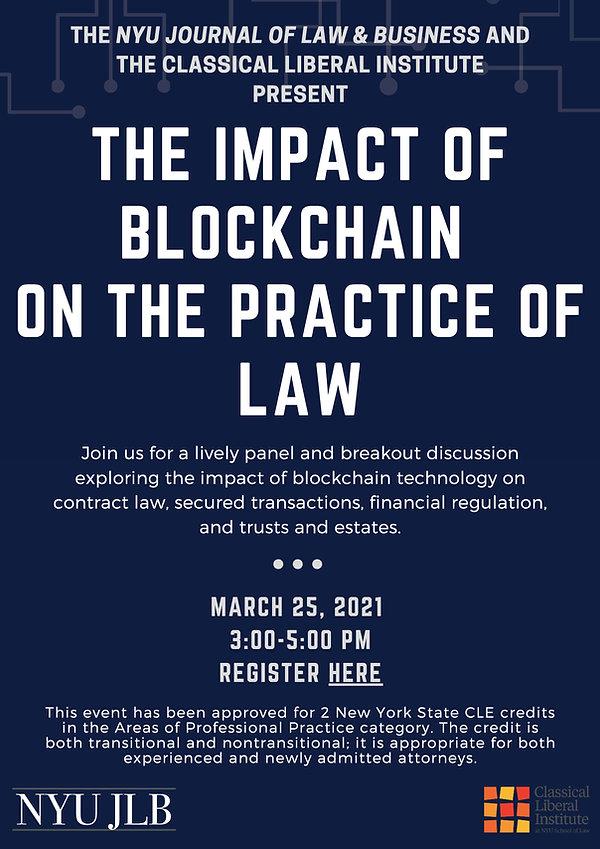 JLB_The Impact of Blockchain on the Prac