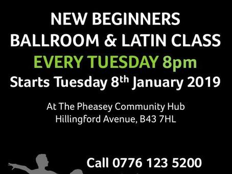 New Beginners Class