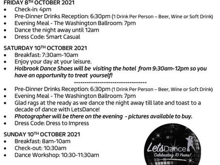 Dawlish Dance Weekend Info Sheet