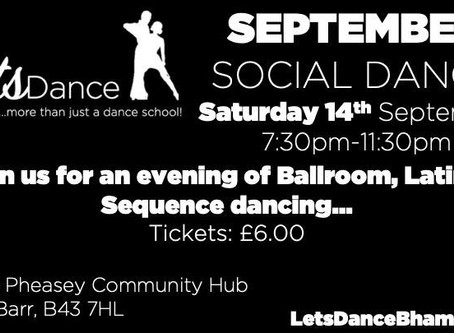 Our next Social Dance
