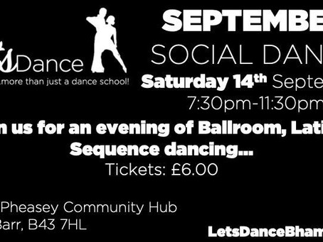 Our next Social Dance