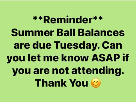 Summer Ball Balances