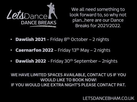 Dance Breaks are back...