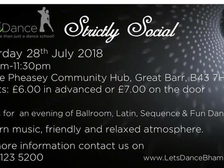 July Strictly Social