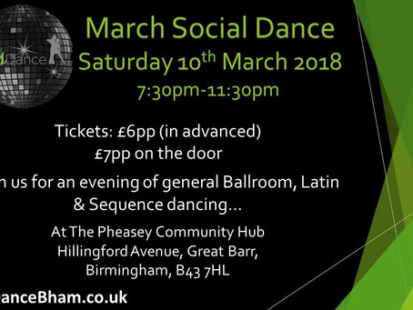 March Social Dance