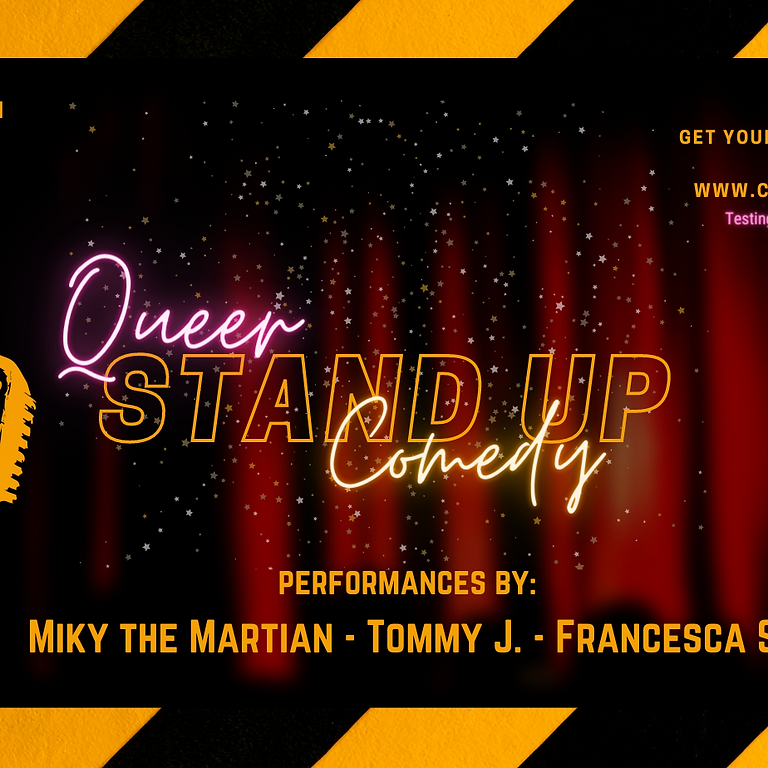 Queer Stand Up Comedy