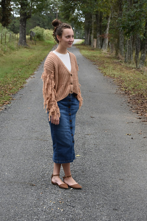 Palmer St. Crop Sweater