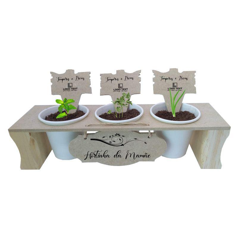 Kit Horta - hortinha da mamãe