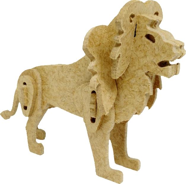 Kit 3D Leão