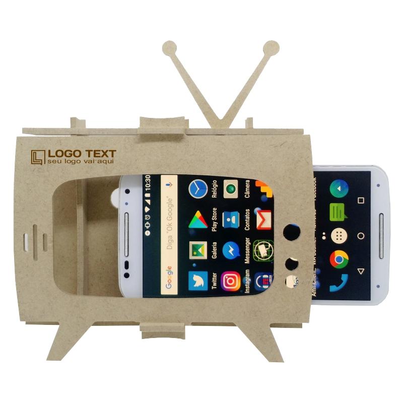 Porta Celular - TV Retrô