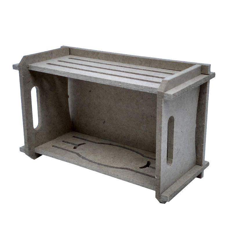 Mini caixote ecológico