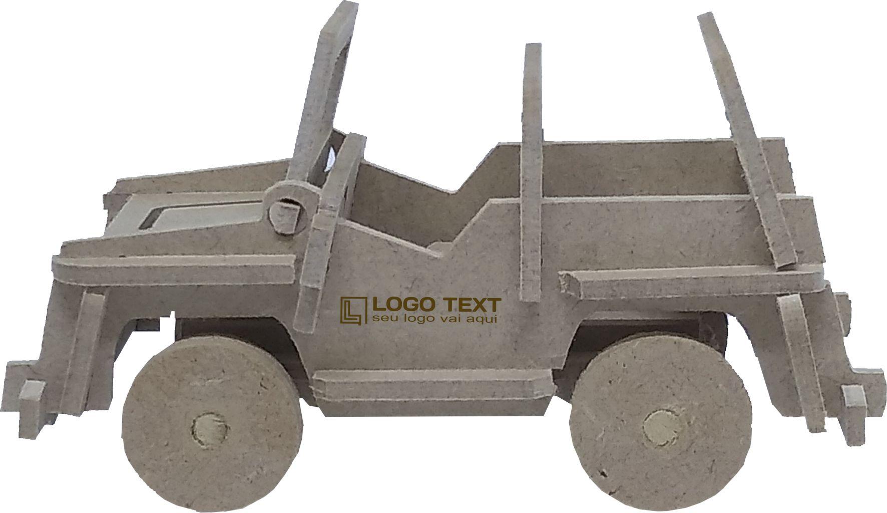 Kit 3D Jeep