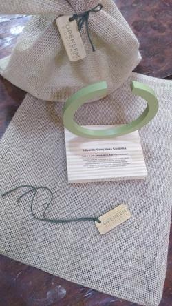 Troféu ecológico personalizado