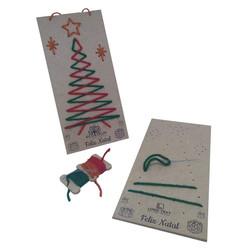 Kit Cartão de Natal Trilha Fácil