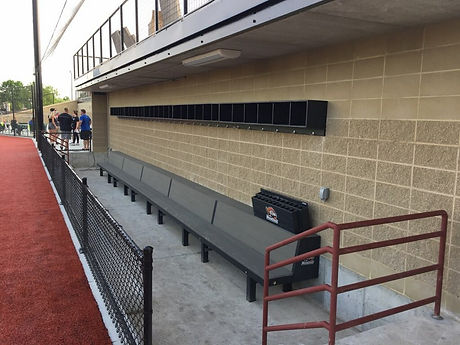 Franklin Rodgers Field-Elite benches, pl