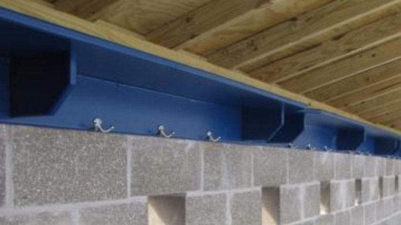 Dugout Shelf