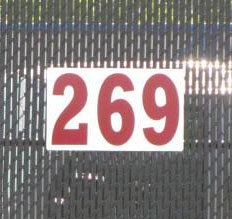 30x16 Horizontal Outfield Distance Sign