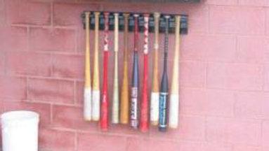 Ten Hanging Bat Rack
