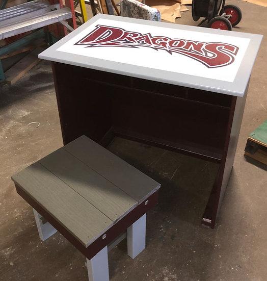 Coaches' Line-up Desk Set
