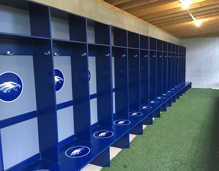 Schafer Locker Set up