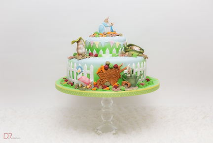 Bespoke designed birthday cakes