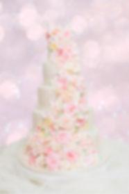 Rustic Wedding Cake by Linda Hofmann