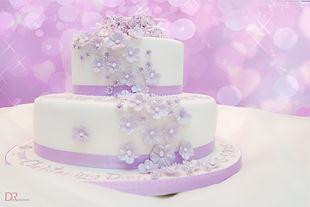 Christening Cake by Linda Hofmann