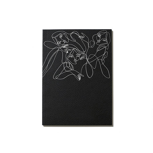 An Organised Life x Elissa Barber Black Notebook