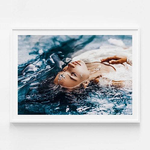 'Pool of Beauty II' Framed Print