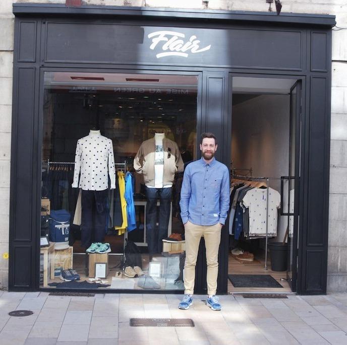 La boutique Flair à Besançon