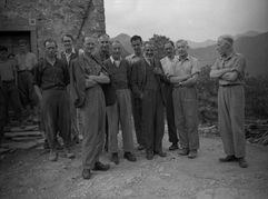 Generali inglesi a Seghettina di sopra (1943)