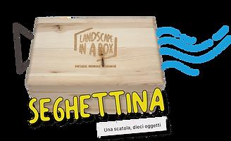 Bottone Seghettina Landscape in a box De