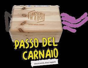 Bottone Passo del Carnaio Landscape in a
