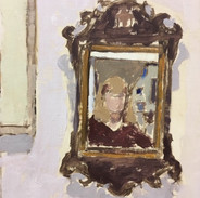 Georgian Fretwork Mirror