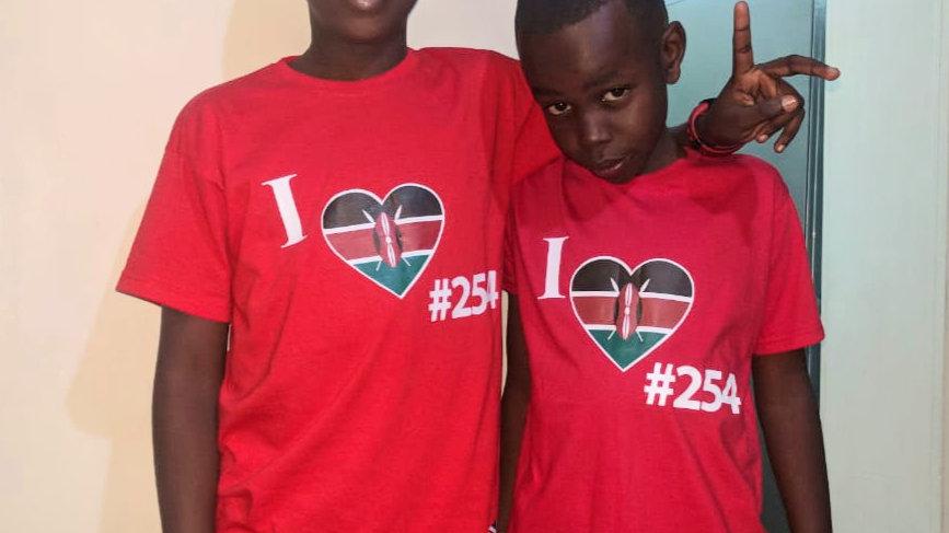 Kenya kids tshirt