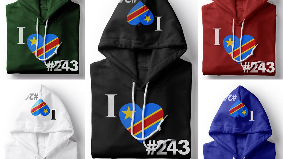 Country 243 Drc Hoodie