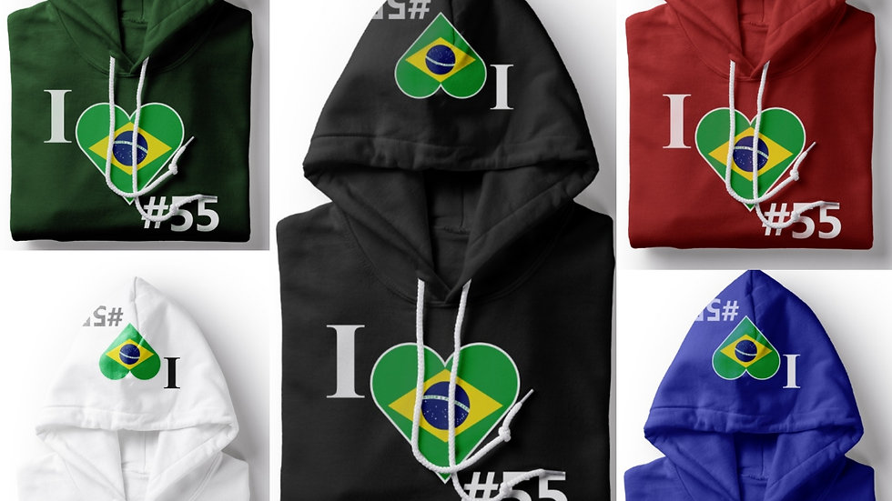 Country 55 Brazil Hoodie