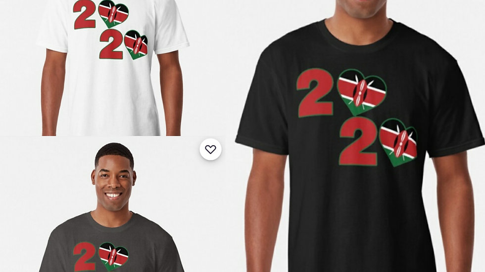 Country 2020 Kenya Round-Neck Tee