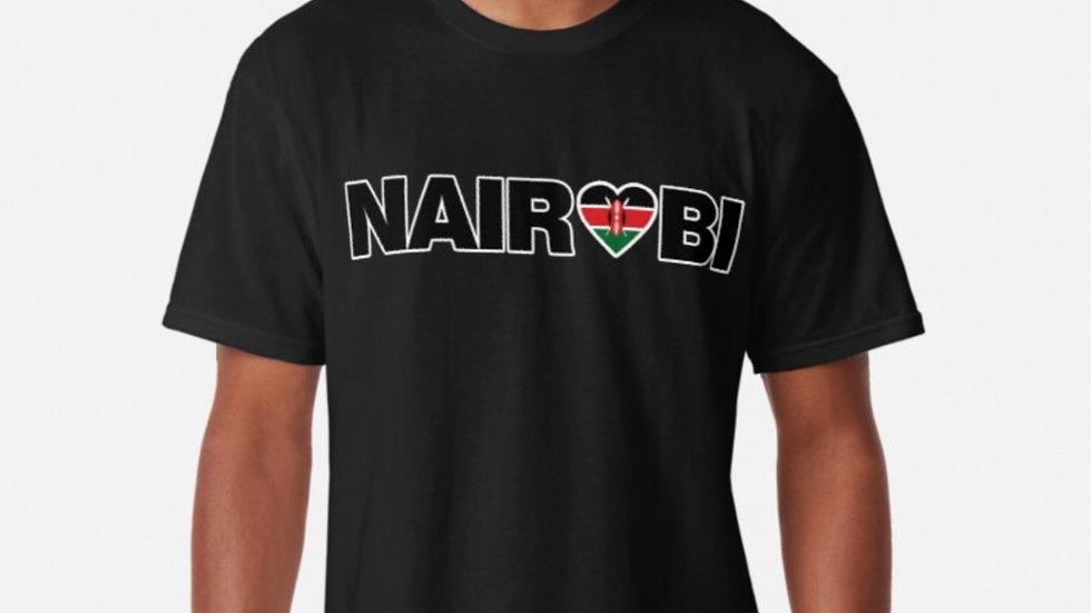 Nairobi Kenya tshirt