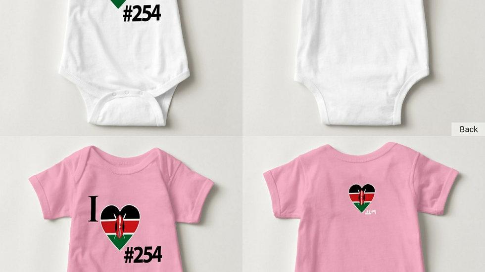 #Country254KenyaBabyBodysuit