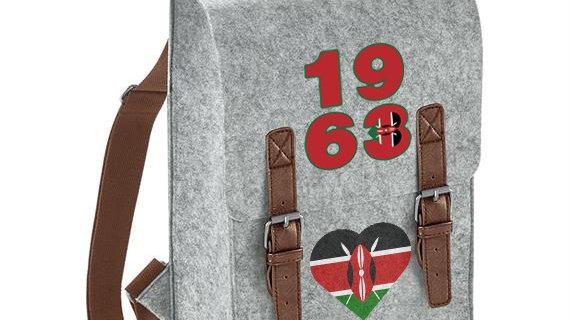 Kenya Premium Felt Backpack