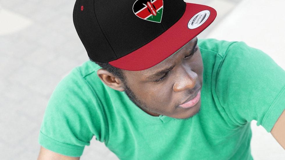 Kenya hat snapback