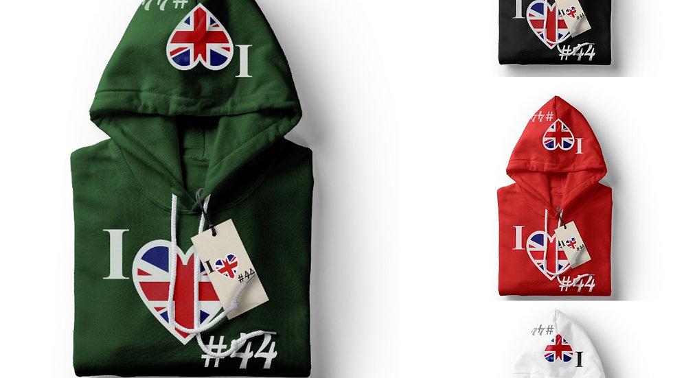 Country 44 United Kingdom Hoodie
