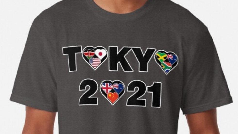 Tokyo Olympics 2021 tshirt