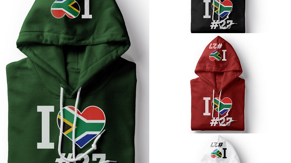 Country 27 South Africa Hoodie
