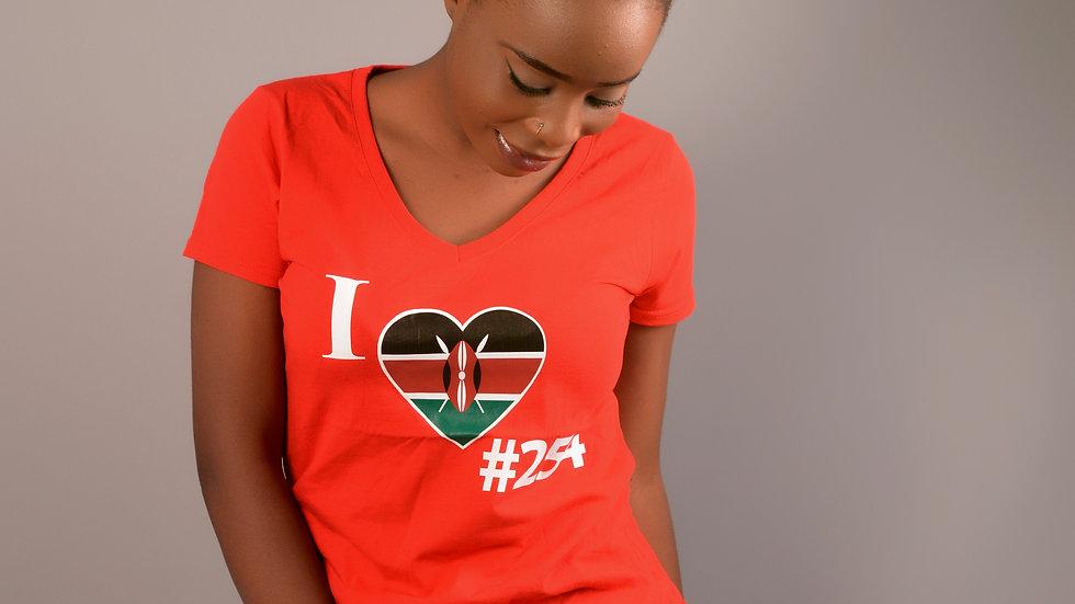 Kenya Vneck tshirt & Joggers