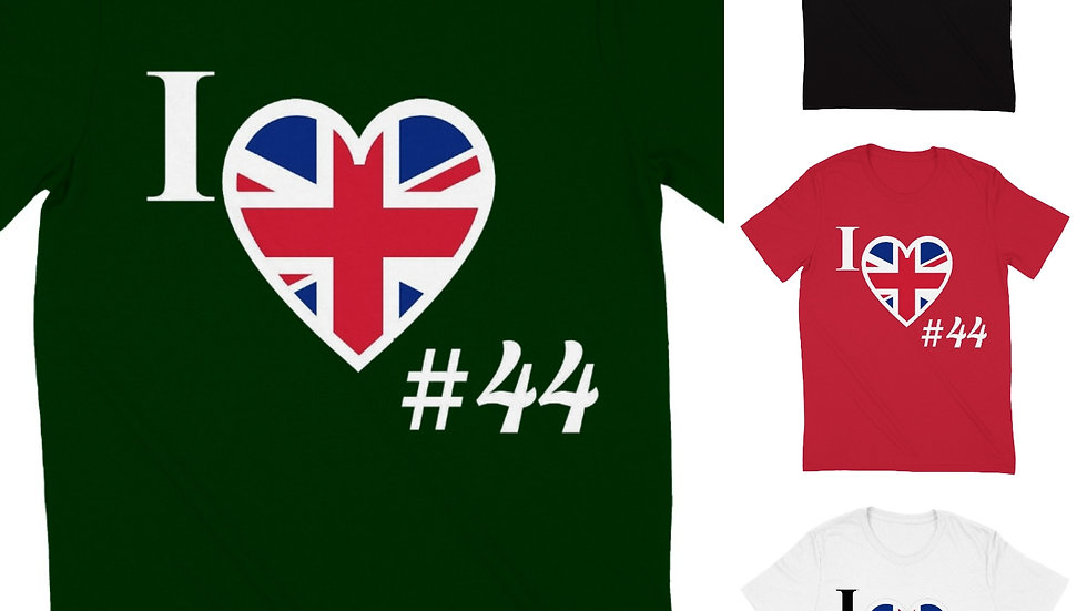 Country 44 United Kingdom Round-Neck Tee